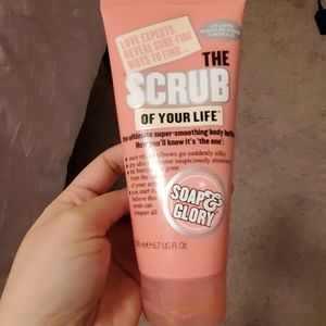 Soap and glory. The scrub of your life